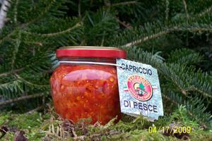 CAPRICCIO DI PESCE PICCANTE  ML212