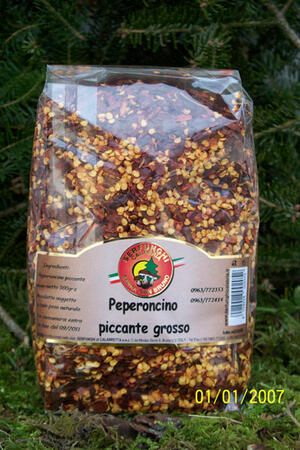 PEPERONCINO PICCANTE GROSSO gr500-100