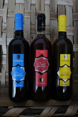 VINO CIRO^ IL MANDORLETO 1 bottiglia a scelta ROSSO/ROSATO O BIANCO