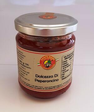 DOLCEZZA DI PEPERONCINO PICCANTE ml 212