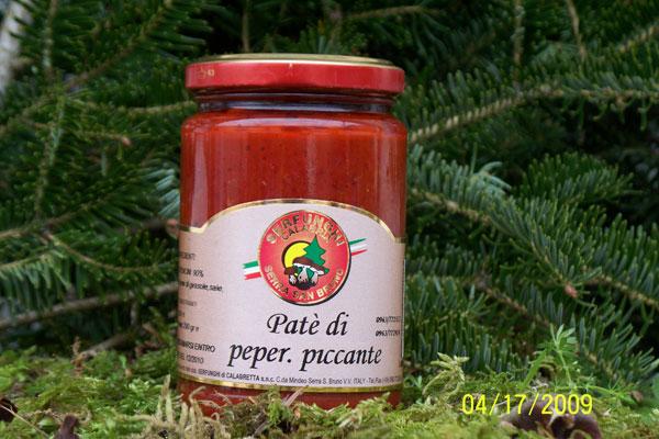 PATE^ DI PEPERONCINO PICCANTE ml 1062/212/314/580