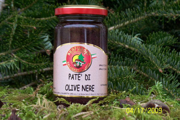 PATE^ DI OLIVE NERE ml 212/580/314 VASO ORCIO