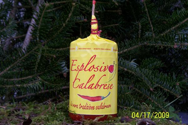 ESPLOSIVO CALABRESE ml314