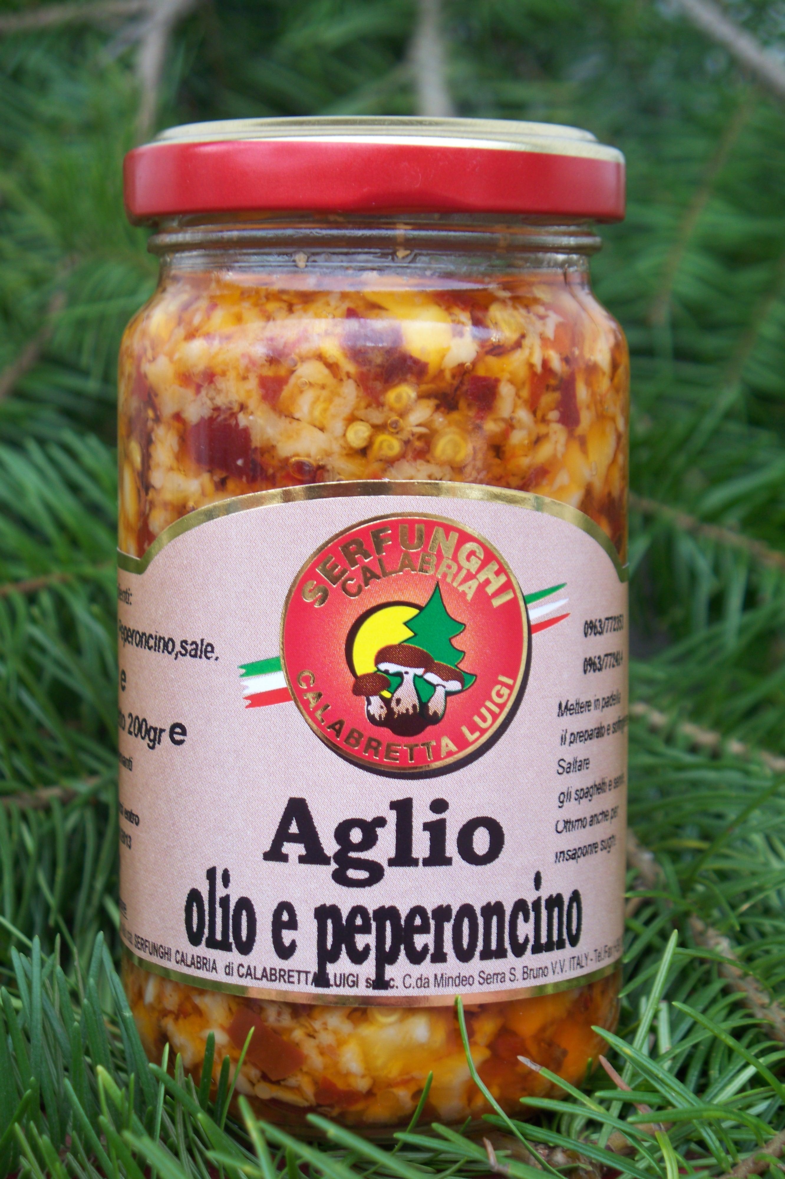 AGLIO OLIO E PEPERONCINO ML 212-ml 314
