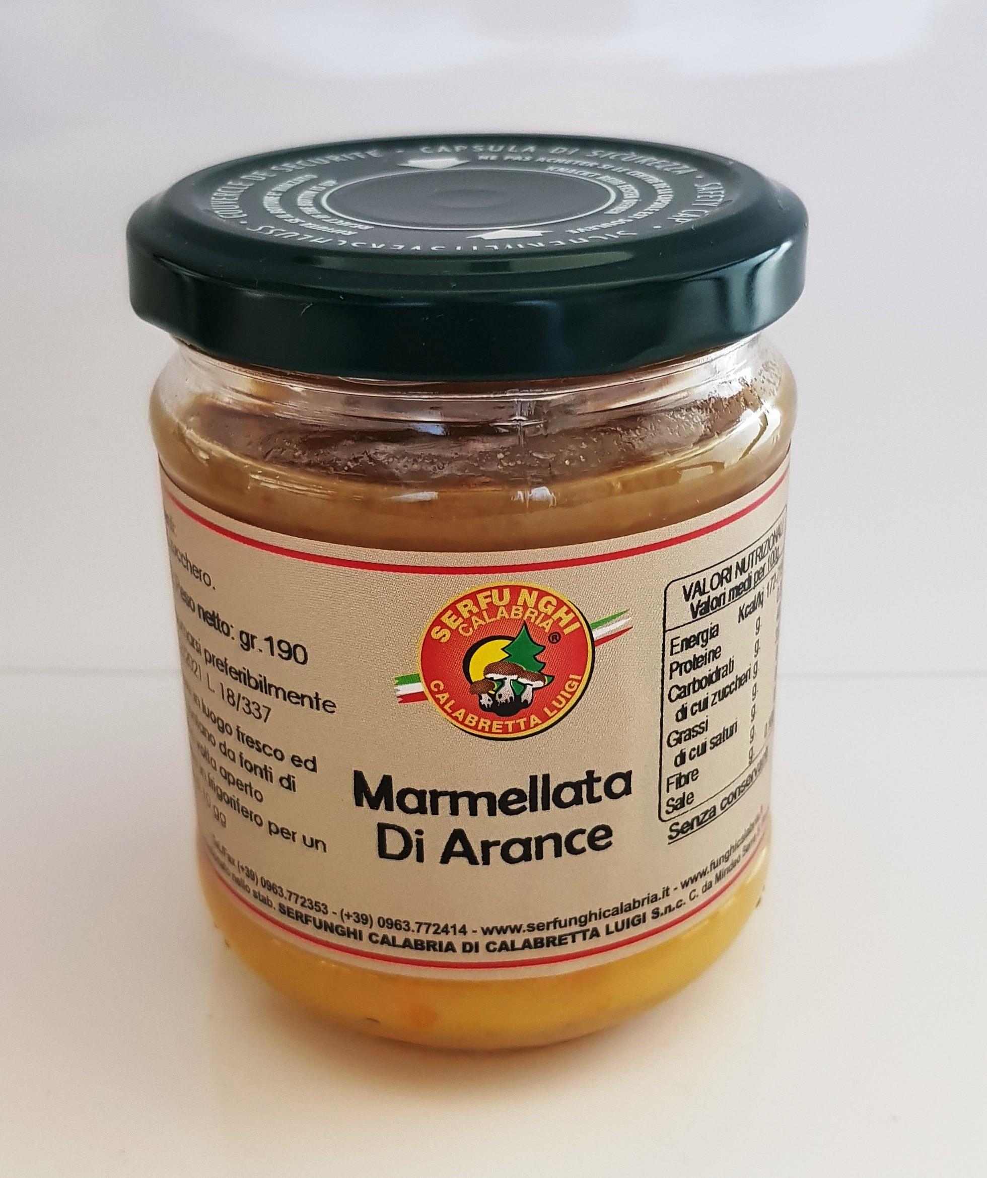 MARMELLATA DI ARANCE ML 212