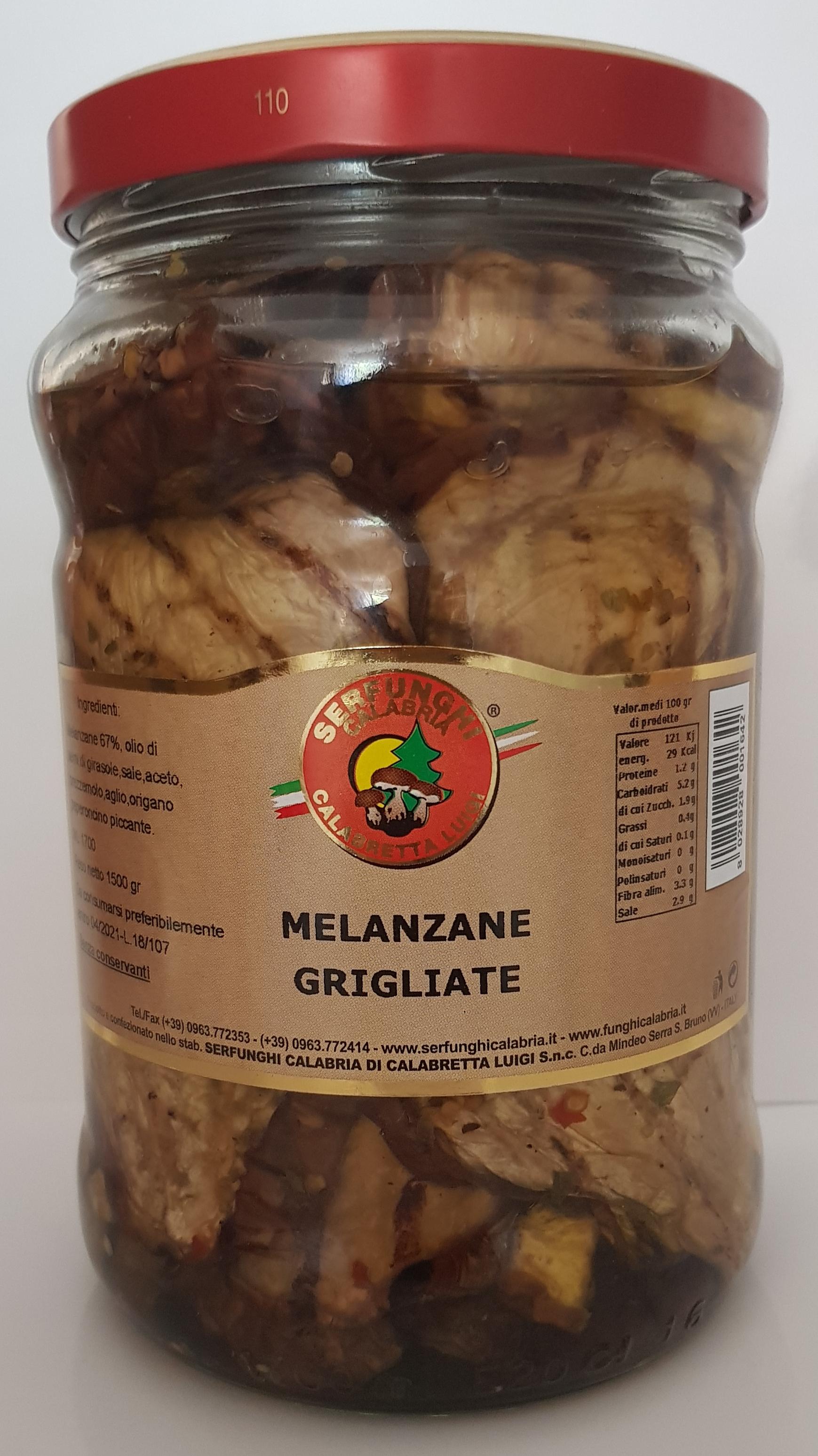 MELANZANE GRIGLIATE ML580-1700