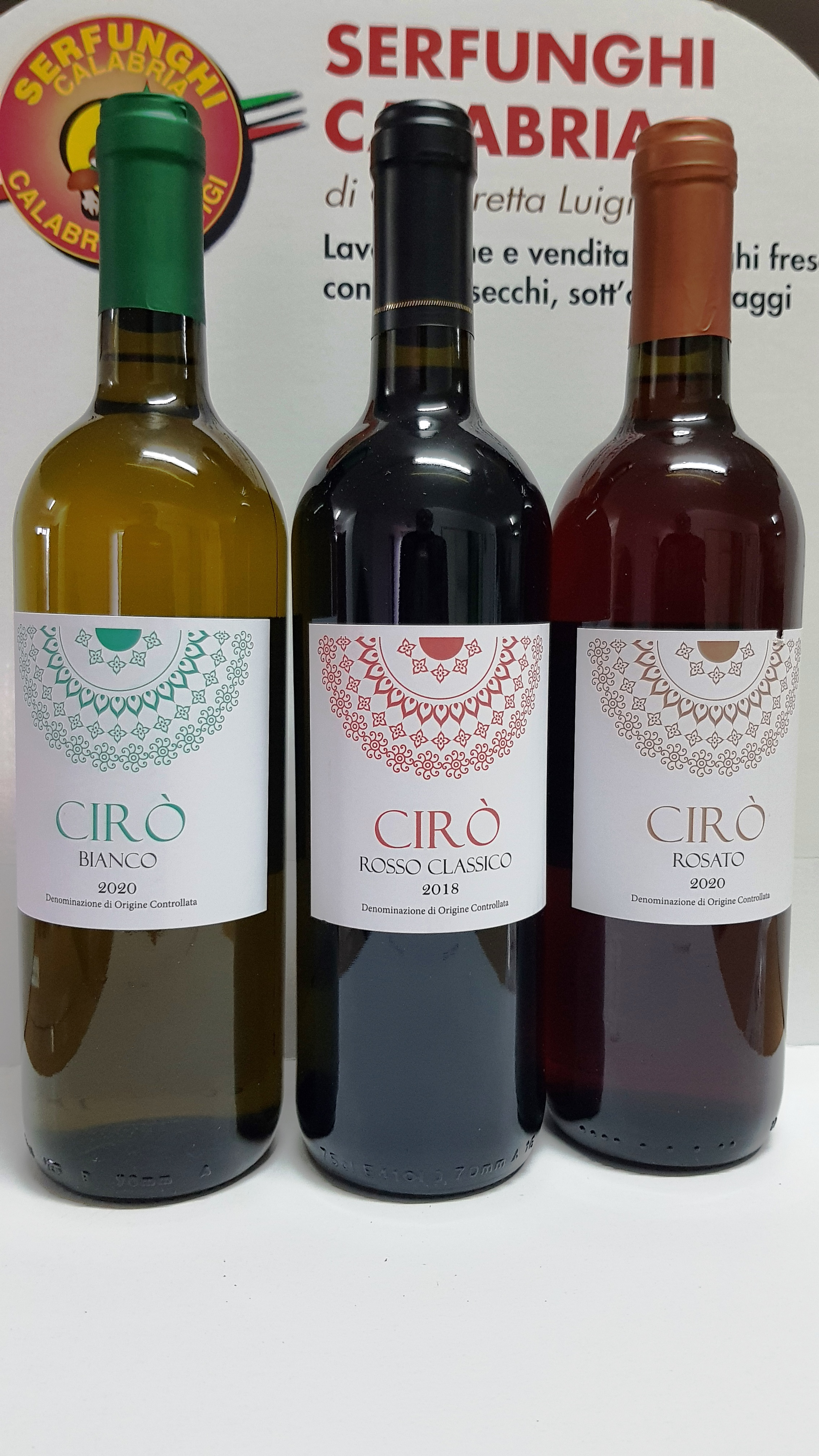 VINO CIRO^ CL 75 ROSSO-BIANCO E ROSATO